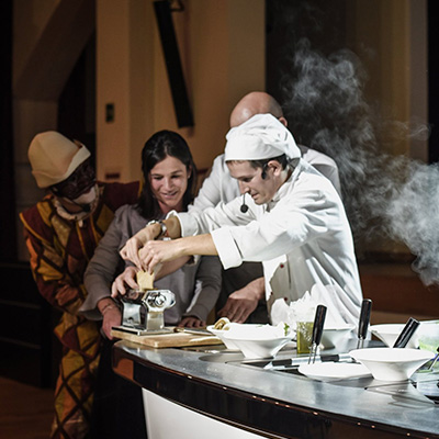 Chef a teatro